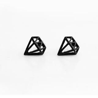 Cuteberry - Cutout Diamond Studs