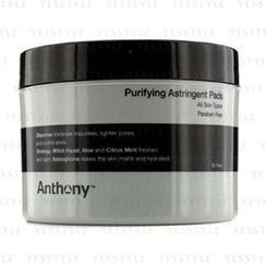 Anthony - Logistics For Men Purifying Astringent Pads (For All Skin Types)