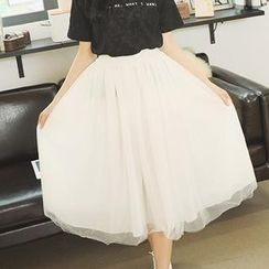 Ando Store - Tulle Long Skirt