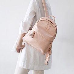 BABOSARANG - Faux-Leather Mini Backpack