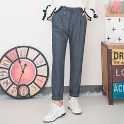 FFBABY - Drawstring Straight Cut Pants