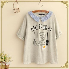 Fairyland - Collared 'Brunch' T-Shirt