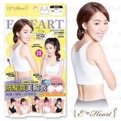 E‧Heart - Beauty Bra-Back Support (White) (L)