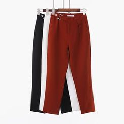 City of Dawn - Paneled Cropped Pants