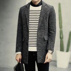 Seoul Boy - Melange Knit Blazer