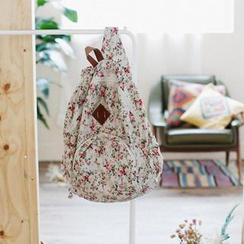 GOROKE - Floral Print Backpack