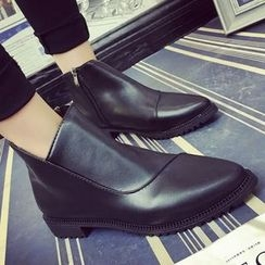 QQ Trend - Pointy Ankle Boots