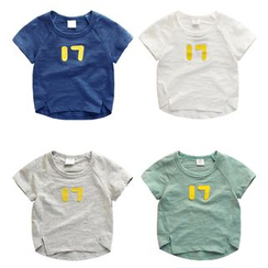 lalalove - Kids Number Short-Sleeve T-shirt