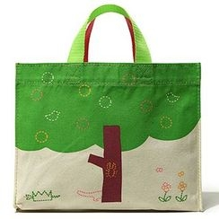 Shibu - Printed Canvas Shopper Bag