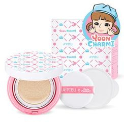 A'PIEU - Air-Fit Cushion Pposong (Yooncharmi Edition) (#21): Cushion + Cushion Refill Only + Air In Puff 1pc