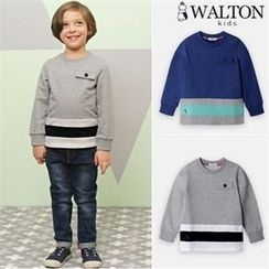 WALTON kids - Boys Contrast-Trim T-Shirt