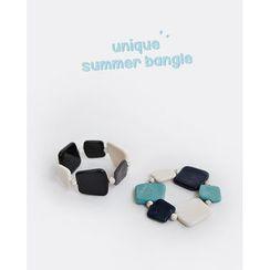 NIPONJJUYA - Faux-Marble Bracelet