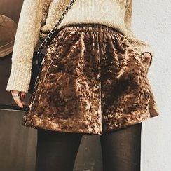 Jack Grace - Velvet Shorts