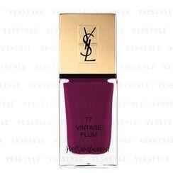 Yves Saint Laurent 伊夫聖羅蘭 - 幻魅指甲油 (#077 Vintage Plum)