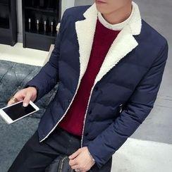 Besto - Color Block Padded Jacket