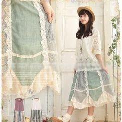 Nectarine - Sleeveless Panel Dress