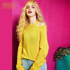 ELF SACK - Cutout Sweater