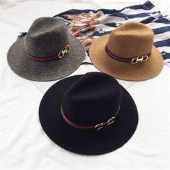 Pompabee - Knit Fedora Hat