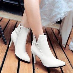 傾城 - 高跟踝靴