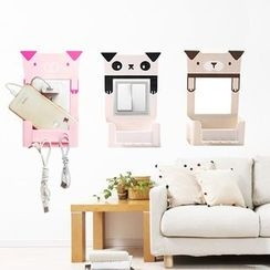 Home Simply - Animal Wall Switch Sticker with Organizer