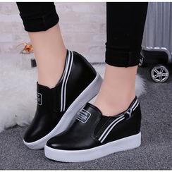 Simply Walk - 配色边厚底轻便鞋