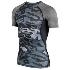 ORCA - Camouflage Print Quick Dry Sports Top