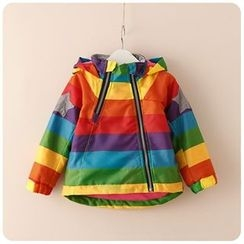 Rakkaus - Kids Striped Padded Jacket
