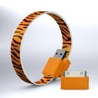 Mohzy - Mohzy Loop USB to Micro-USB Cable (Tiger) (With Adapter)