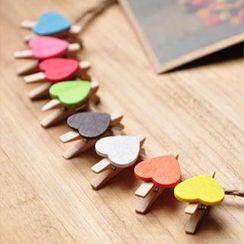 MissYou - Heart Paper Peg