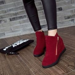 BAYO - Hidden Wedge Ankle Boots