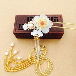 HelloDear - Flower Dangling Hair Pin