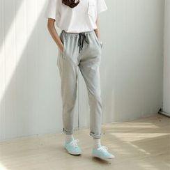 Porta - Drawstring Sweatpants