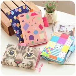 Momoi - Print Leather Cover Schedule (S/M)