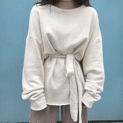 Cloud Nine - Tie Waist Sweatshirt