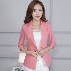Pearlescent - Single-Button Jacket