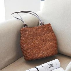 Trava - Woven Shoulder Bag