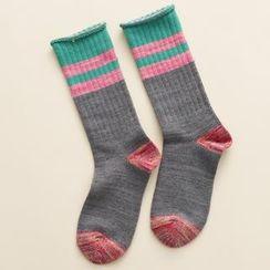 LA SHOP - Striped Socks