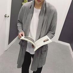 Zeesebon - Long Knit Jacket