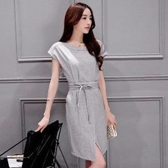 Romantica - Tie-Waist Sheath Dress