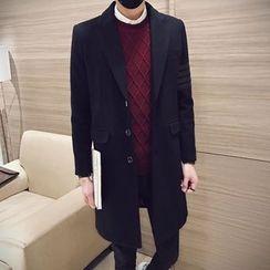 Besto - Woolen Long Coat