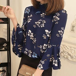 lilygirl - Floral Chiffon Blouse