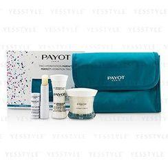 Payot - Perfect Hydration Trip Set : Cleansing Milk 30ml + Cream 50ml + Lip Balm 4g + Bag