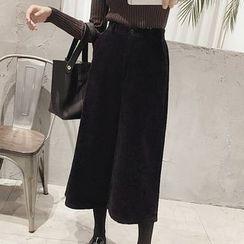 Phyllis - Cropped Wide Leg Pants