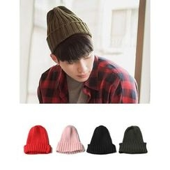 STYLEMAN - Ribbed Beanie