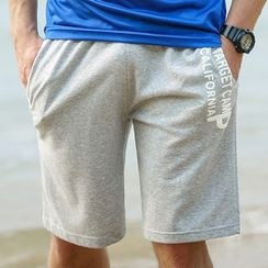 MaxBlue - Lettering Shorts