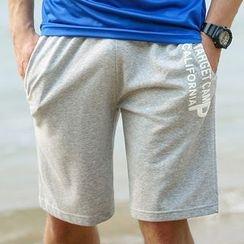 MaxBlue - 字母短裤