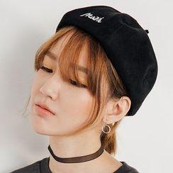 Heynew - 绣字贝雷帽