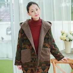 tete - Two-Way Hooded Coat