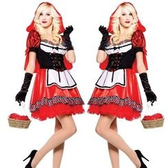 Gembeads - Little Red Riding Hood Party Costume