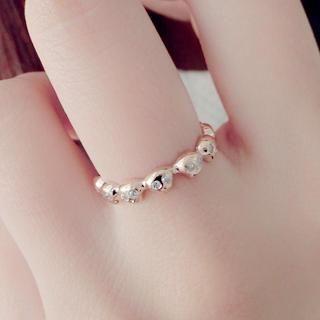 Gossip Girl - Rhinestone Skull Ring